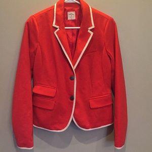 Gap red academy blazer sz 6